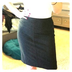 Black, grey and white stretchy NY&Co skirt
